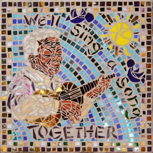 Ella Jenkins mosaic