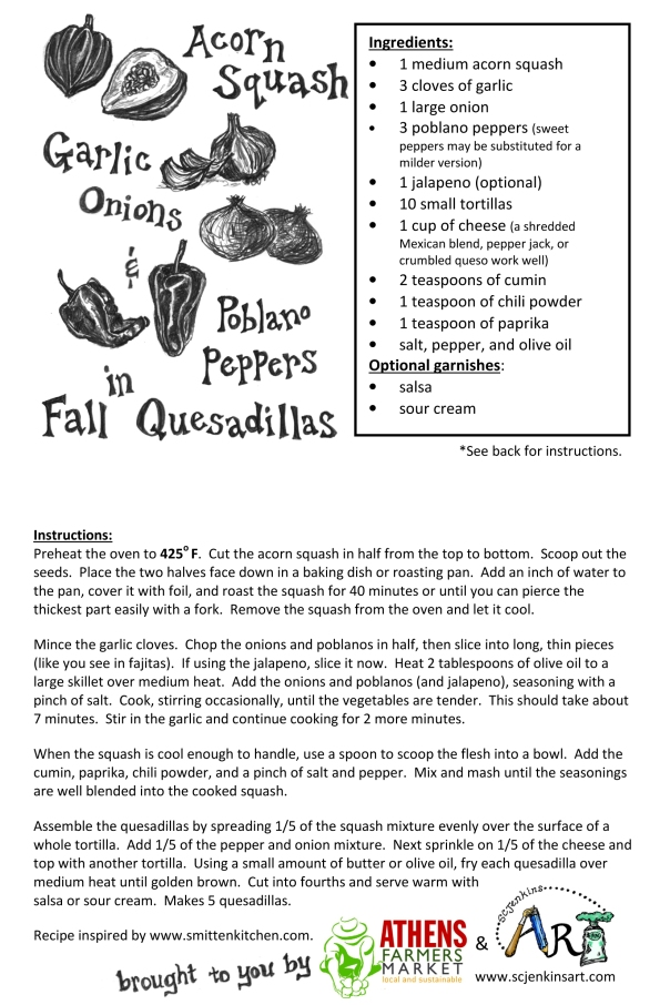 Fall Quesadillas Recipe